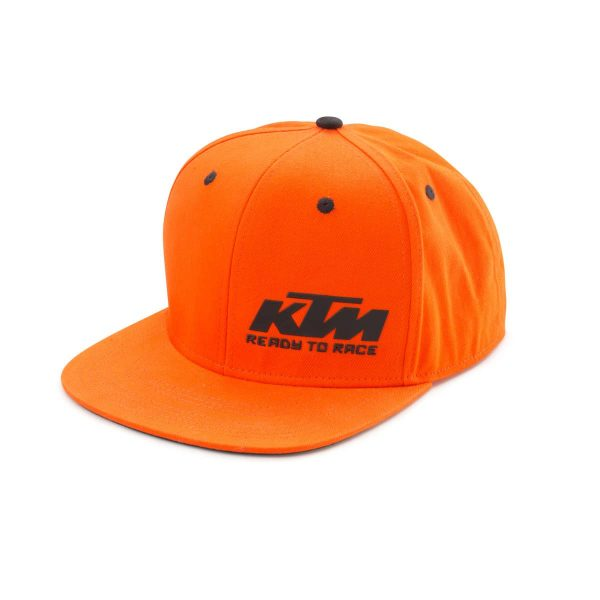 KTM Team Snapback Orange Cap