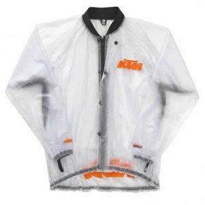 KTM Rain Jacket Transparent