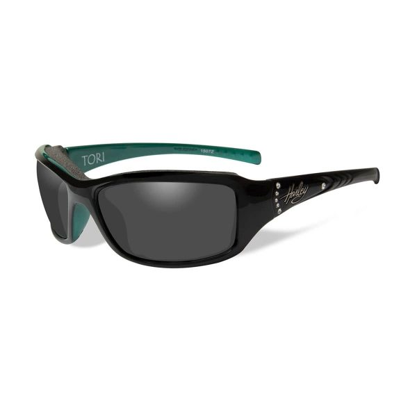 Harley-Davidson® Women's Wiley-X® Tori Sunglasses with grey lenses